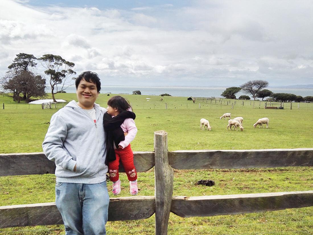 菲利普岛景点丘吉尔岛传统农庄