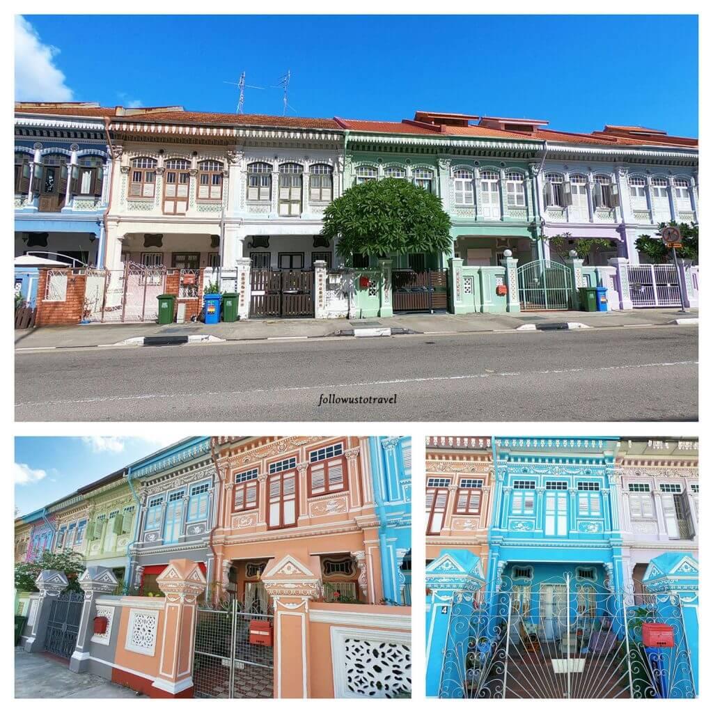 Singapore peranakan houses