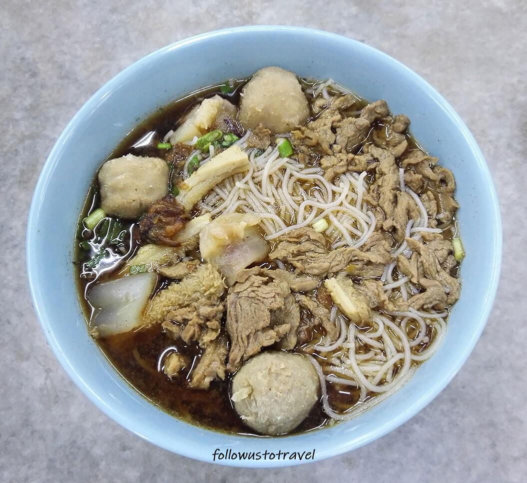 sabah beef noodle Ngiu Chap