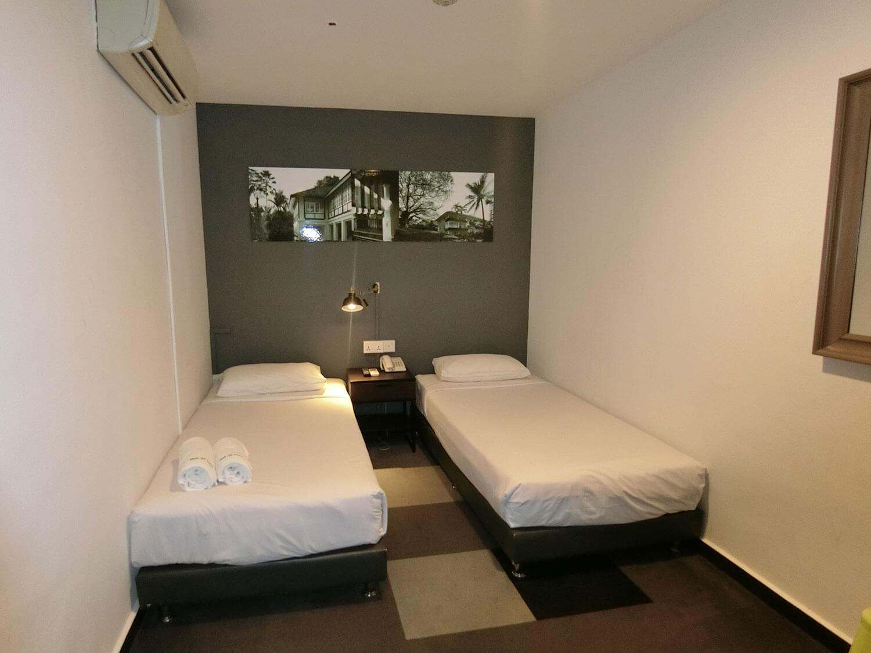 park 22 hotel single beds