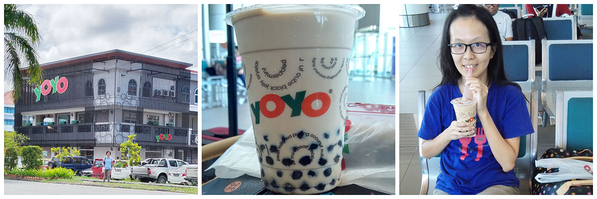 sabah yoyo milk tea