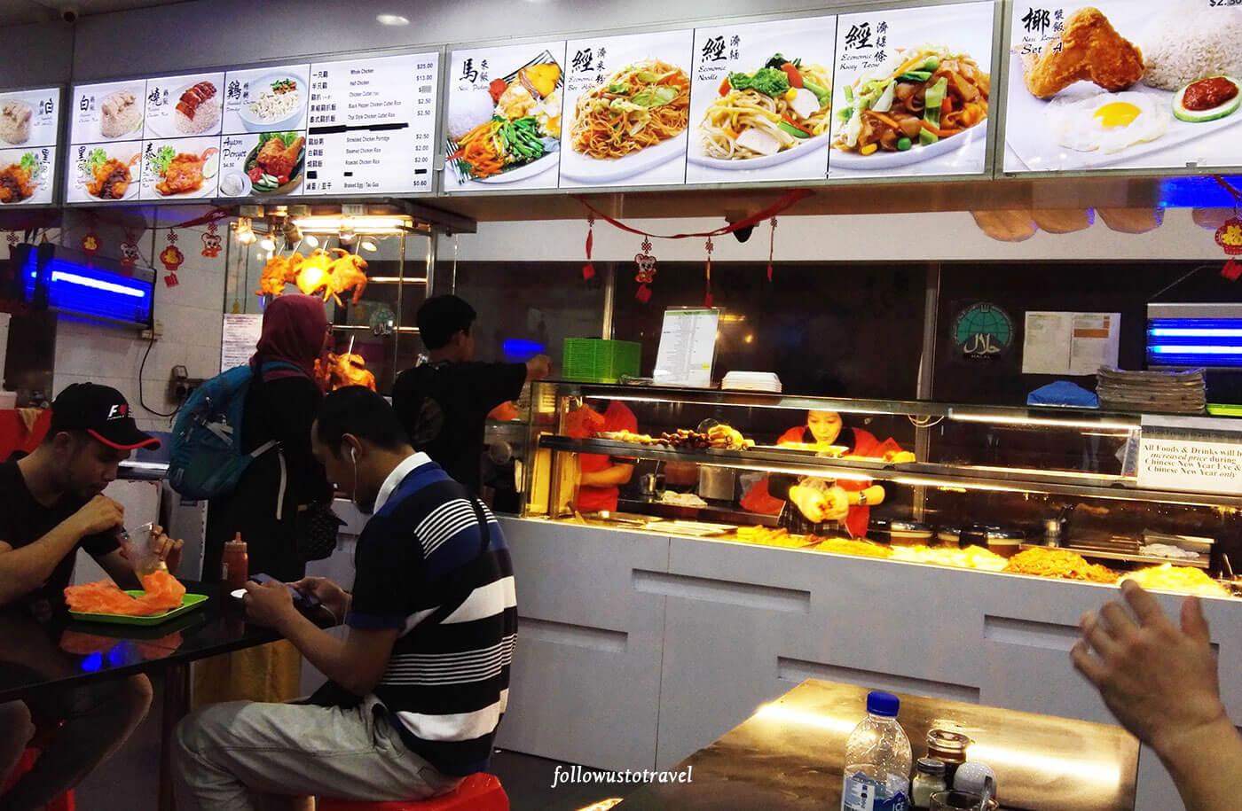 卡迪体贴站新加坡美食