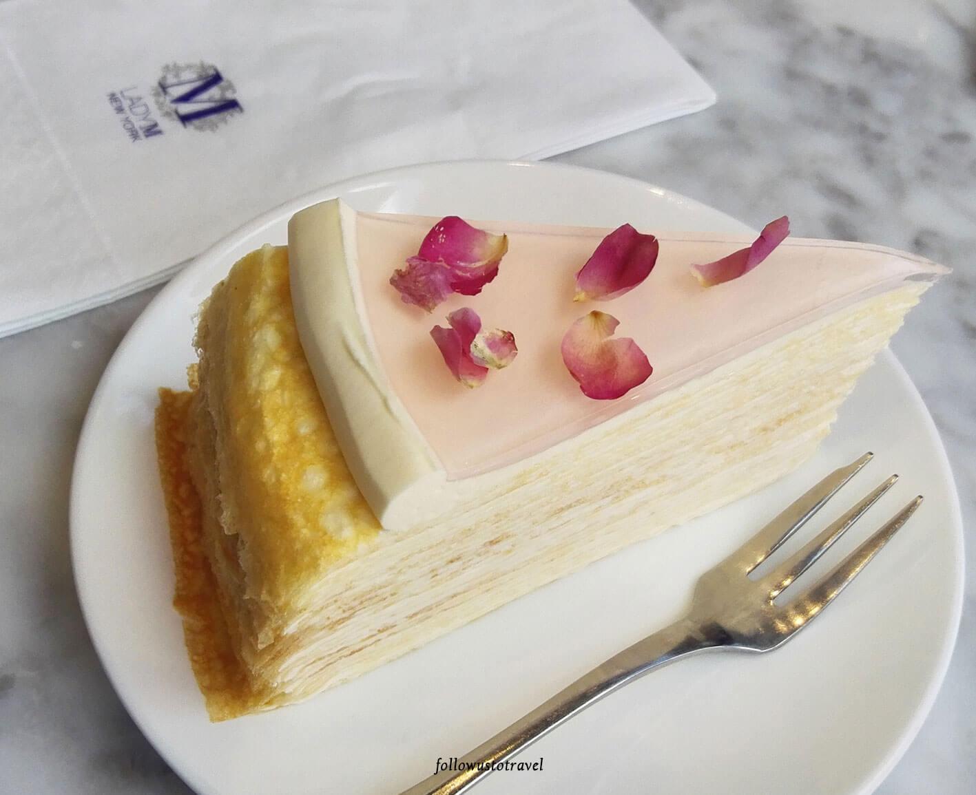 lady M 皇牌原味千层蛋糕