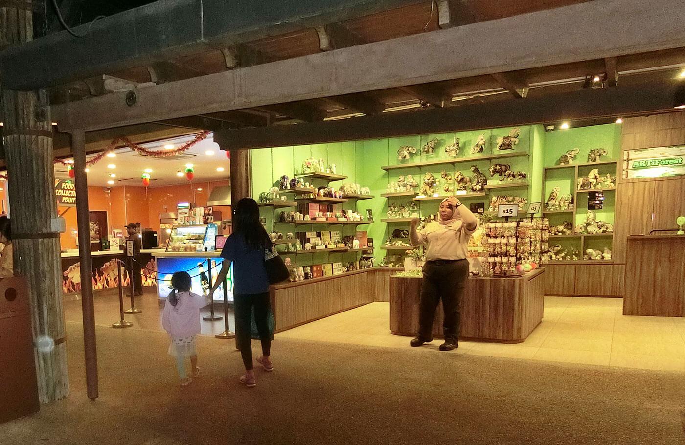 新加坡夜间动物园礼品店