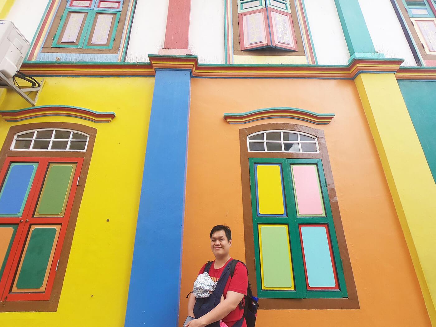 小印度彩色屋