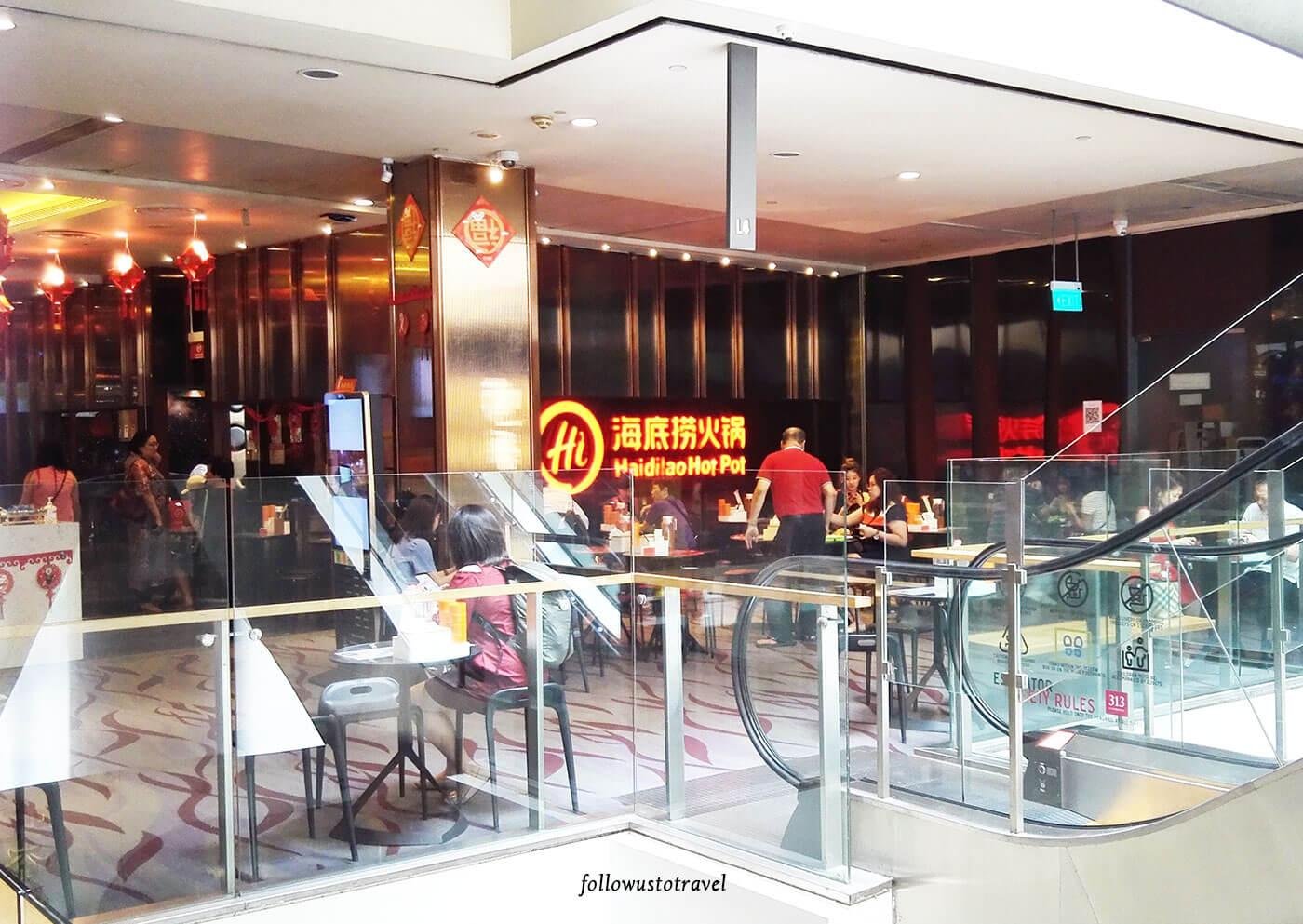 新加坡海底捞火锅新加坡海底捞价钱