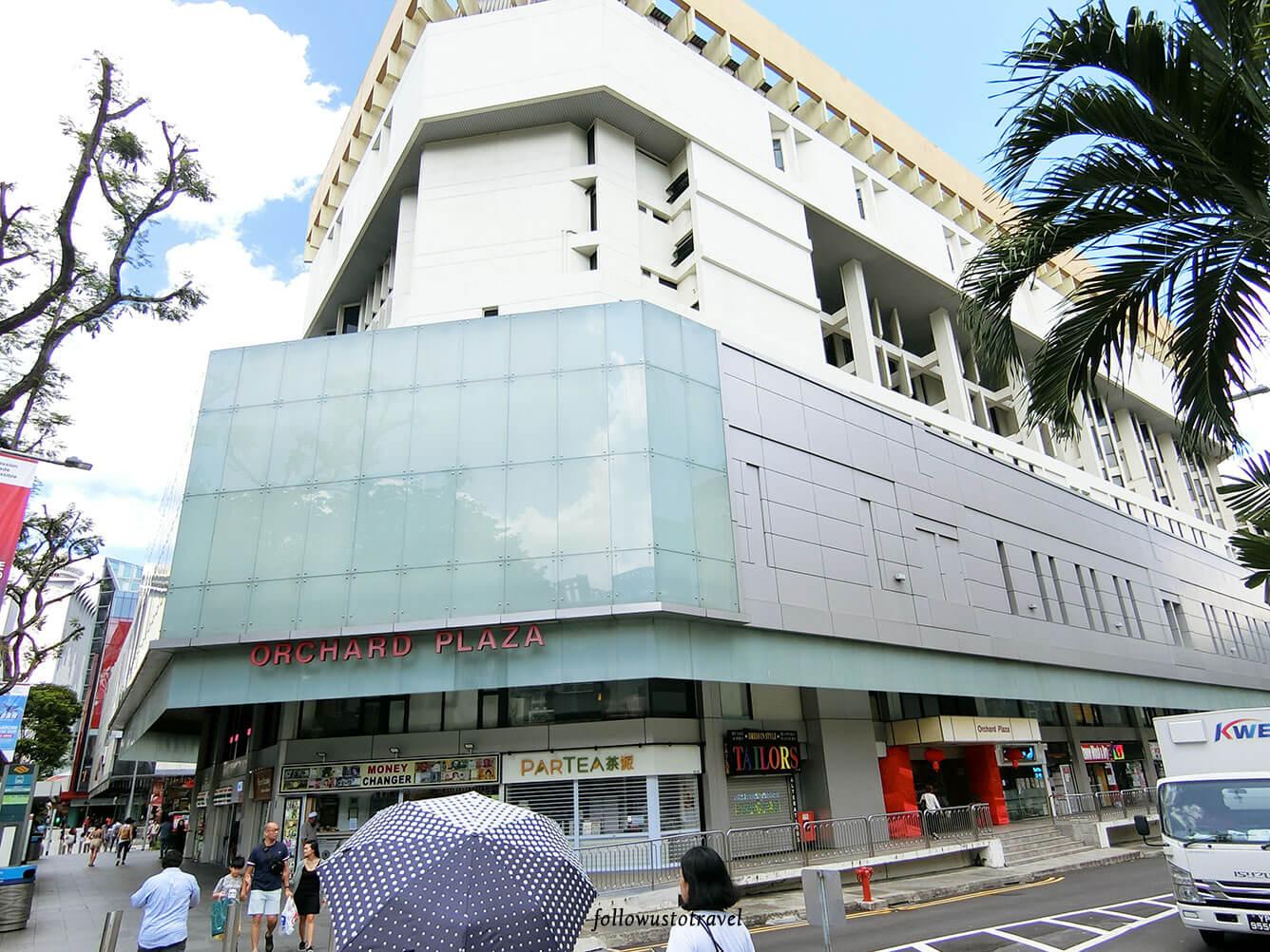 新加坡烏節路逛街