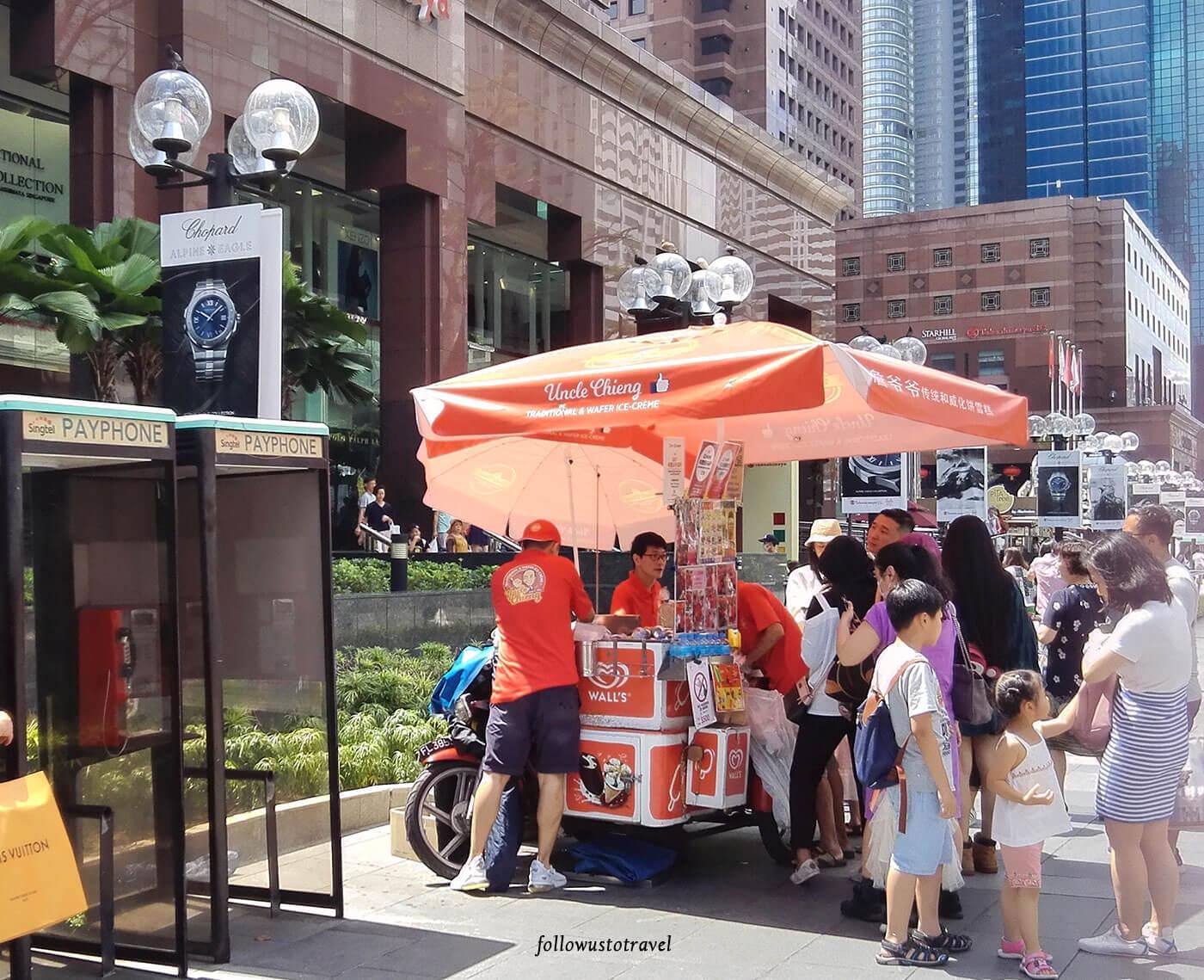 新加坡面包冰淇淋