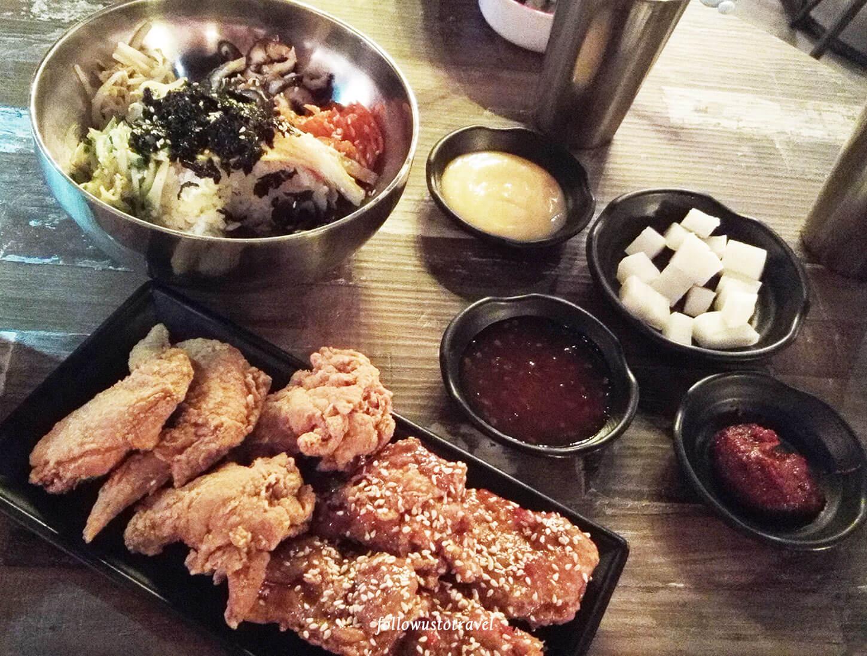 韩式拌饭Bibimbap