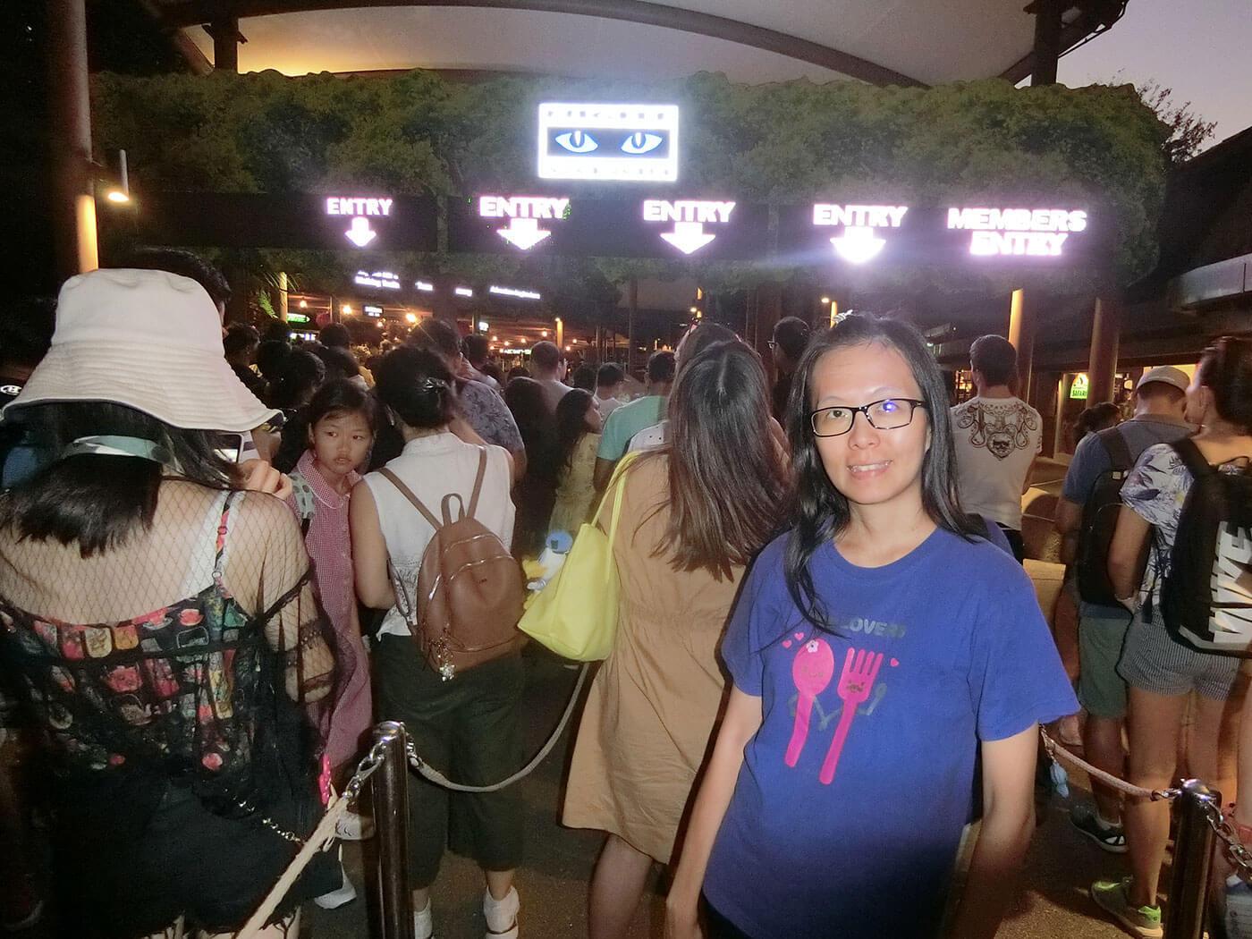 新加坡夜间动物园人潮