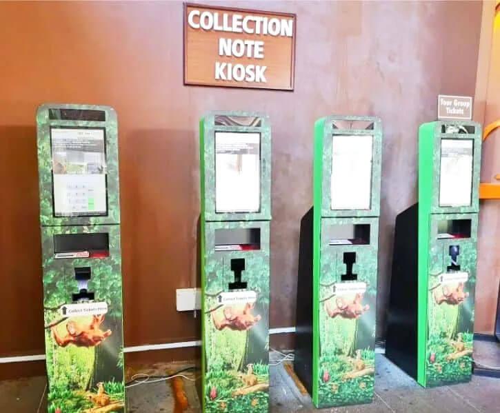 新加坡夜间野生动物园购票处