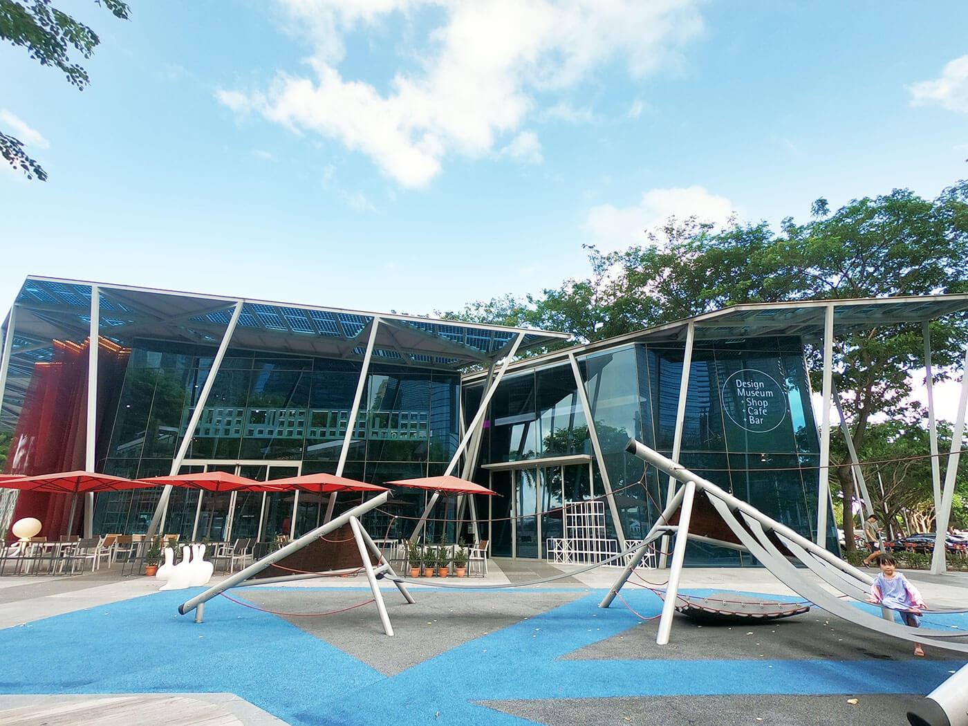 新加坡必去景点红点设计博物馆