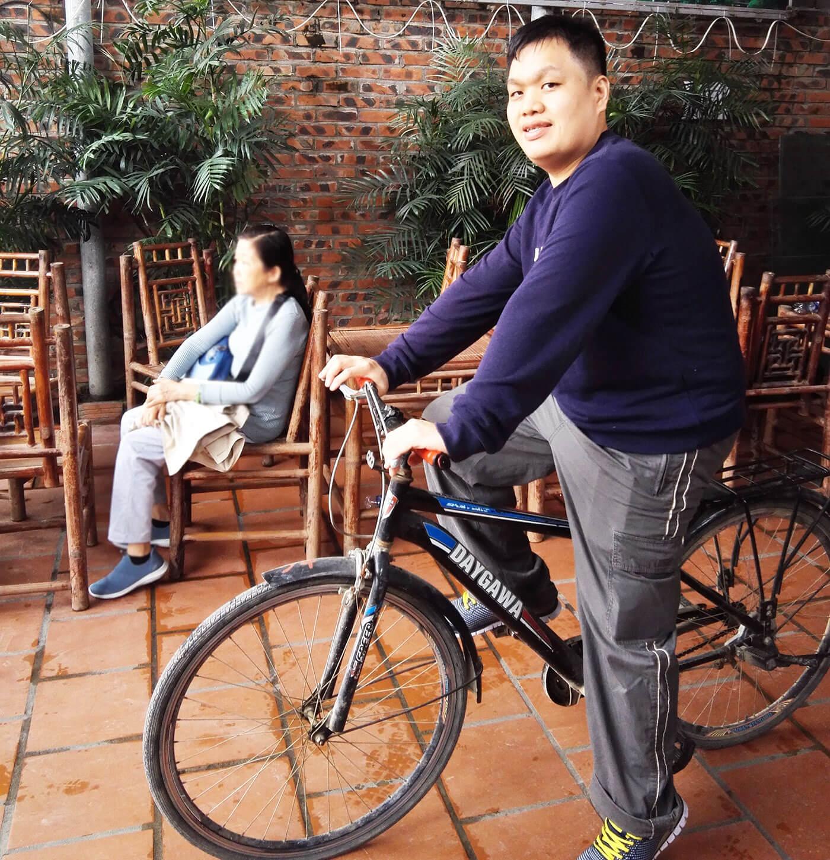 三谷骑自行车