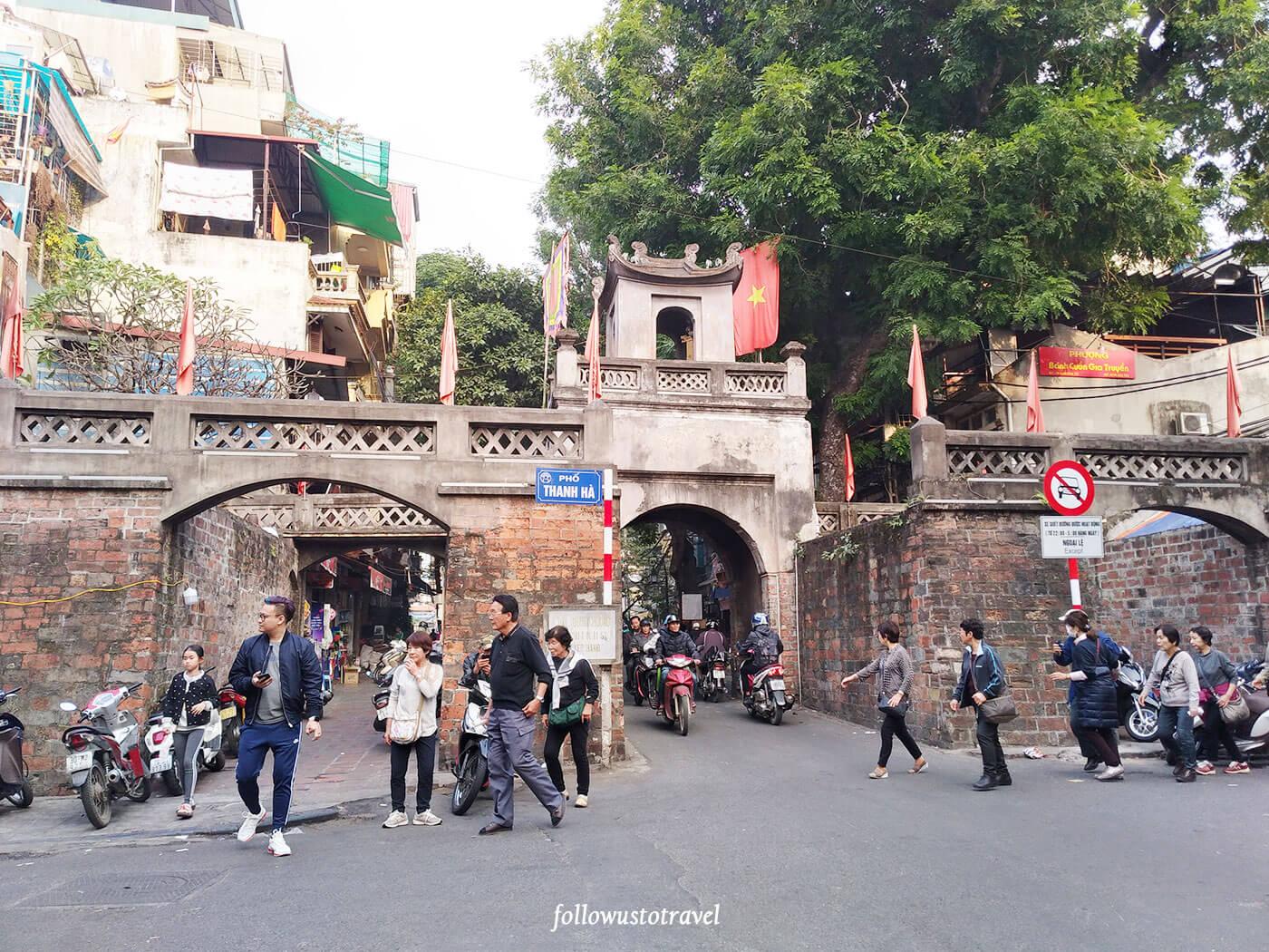 越南景点河内城门