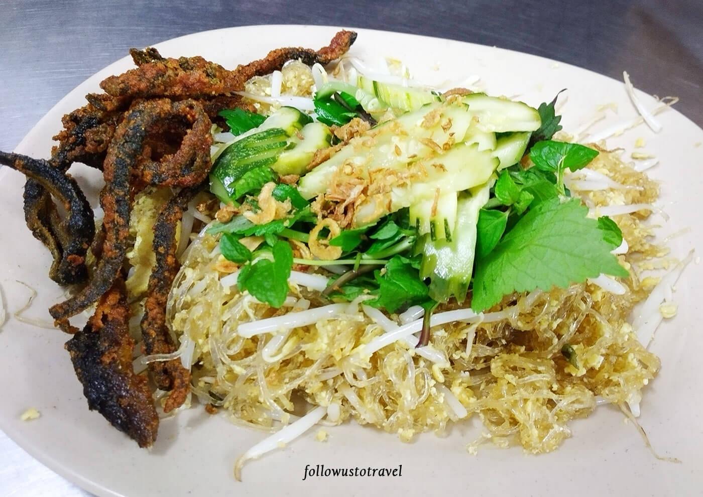鳗鱼冬粉越南美食