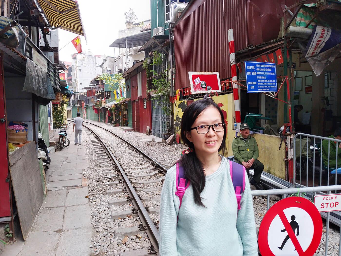 河内火车街
