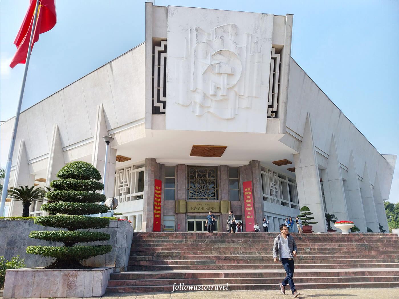 河内景点胡志明博物馆