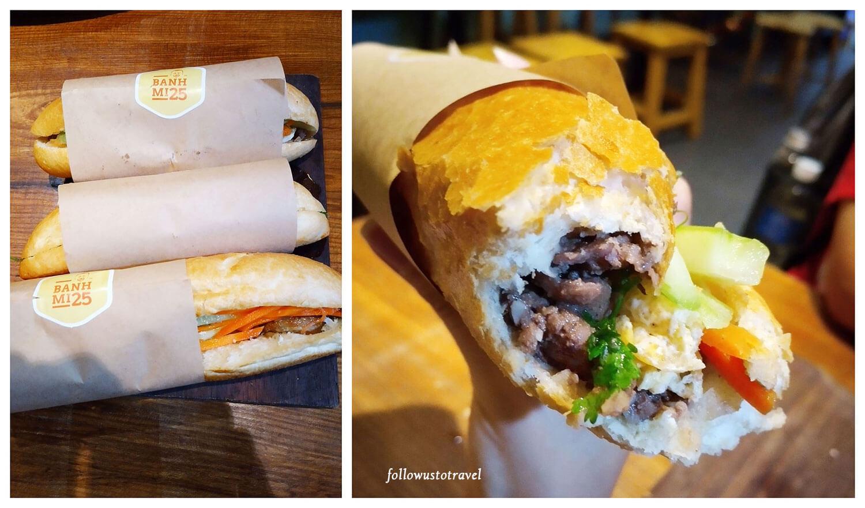 越南美食越南三明治面包
