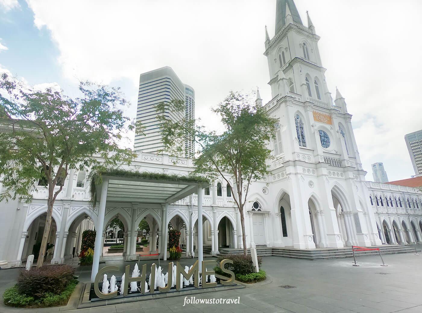 赞美教堂赞美广场