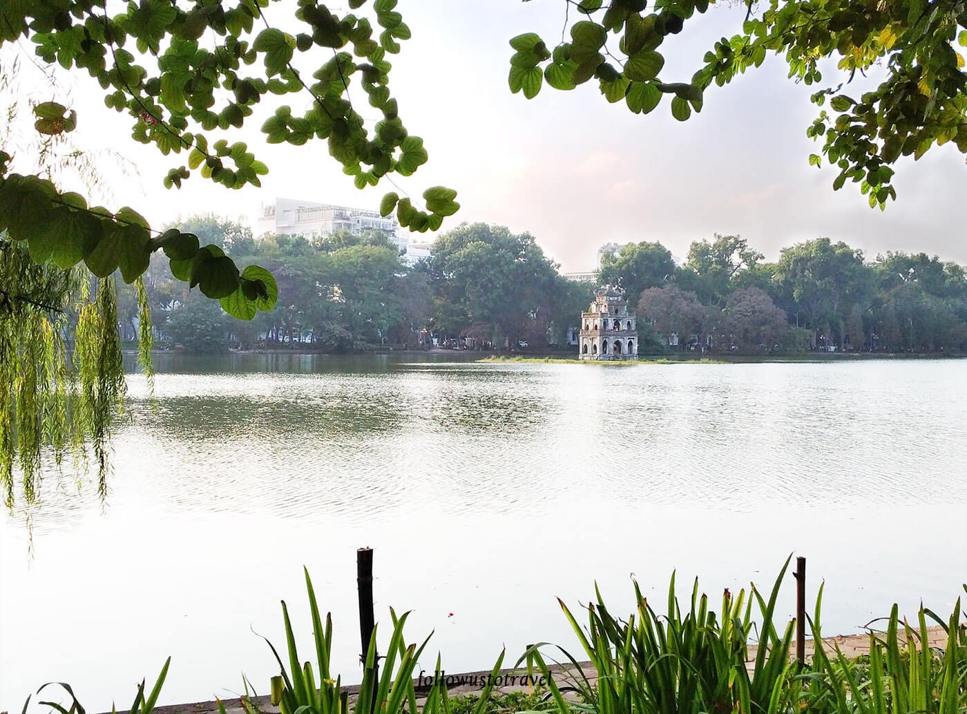 河内景点越南景点龟塔