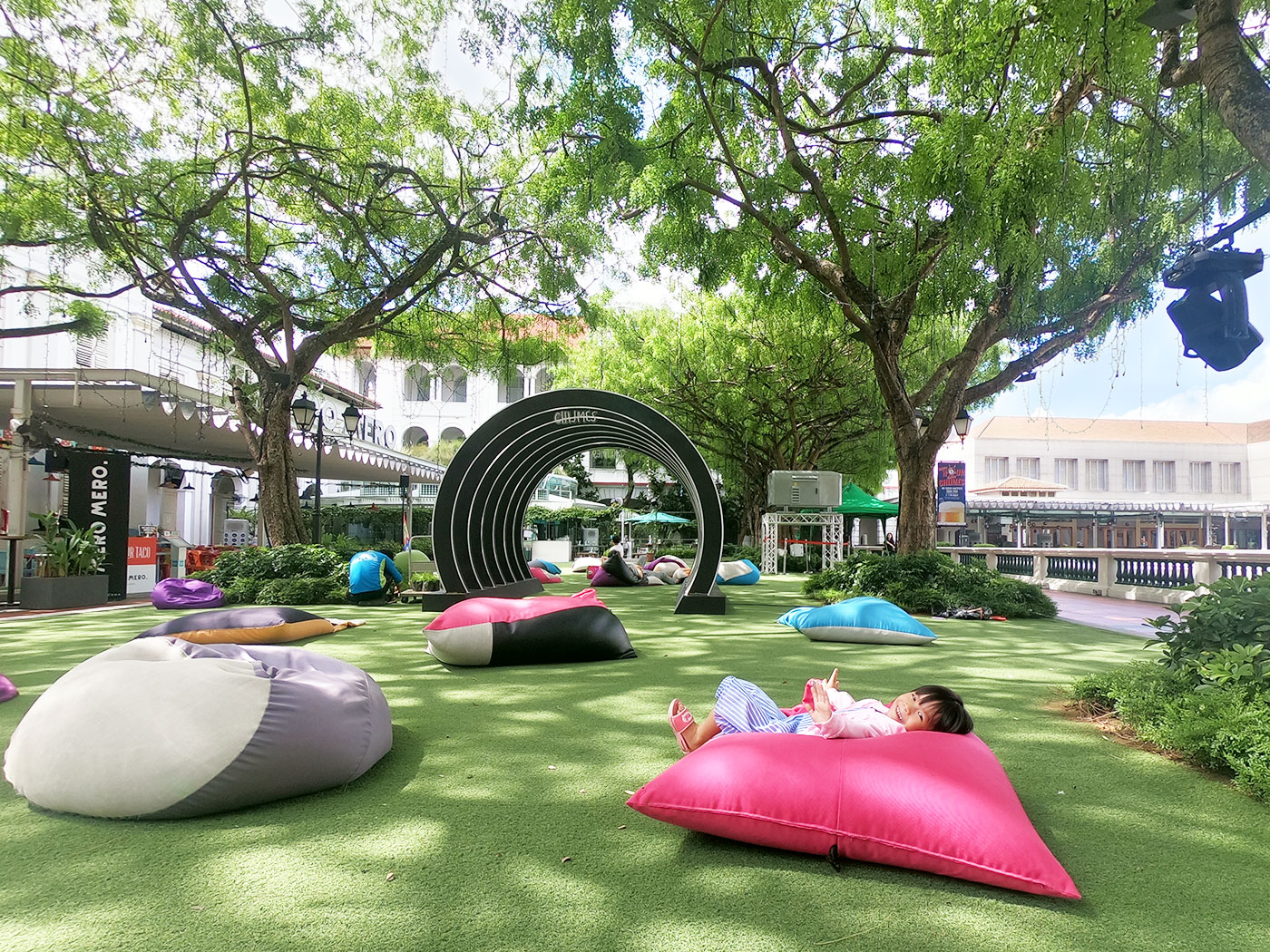 新加坡景点赞美广场花园