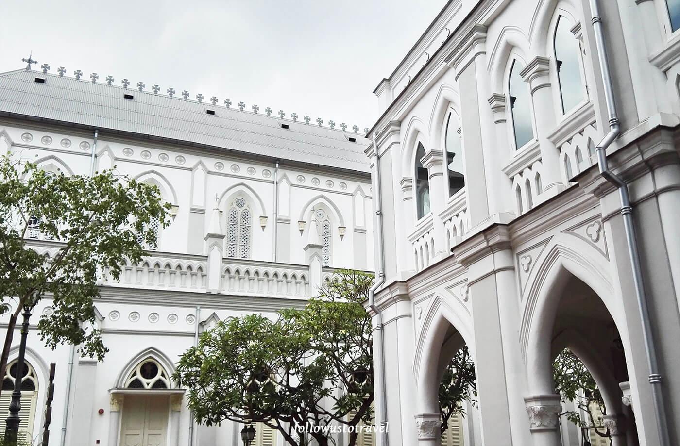 新加坡景点赞美教堂