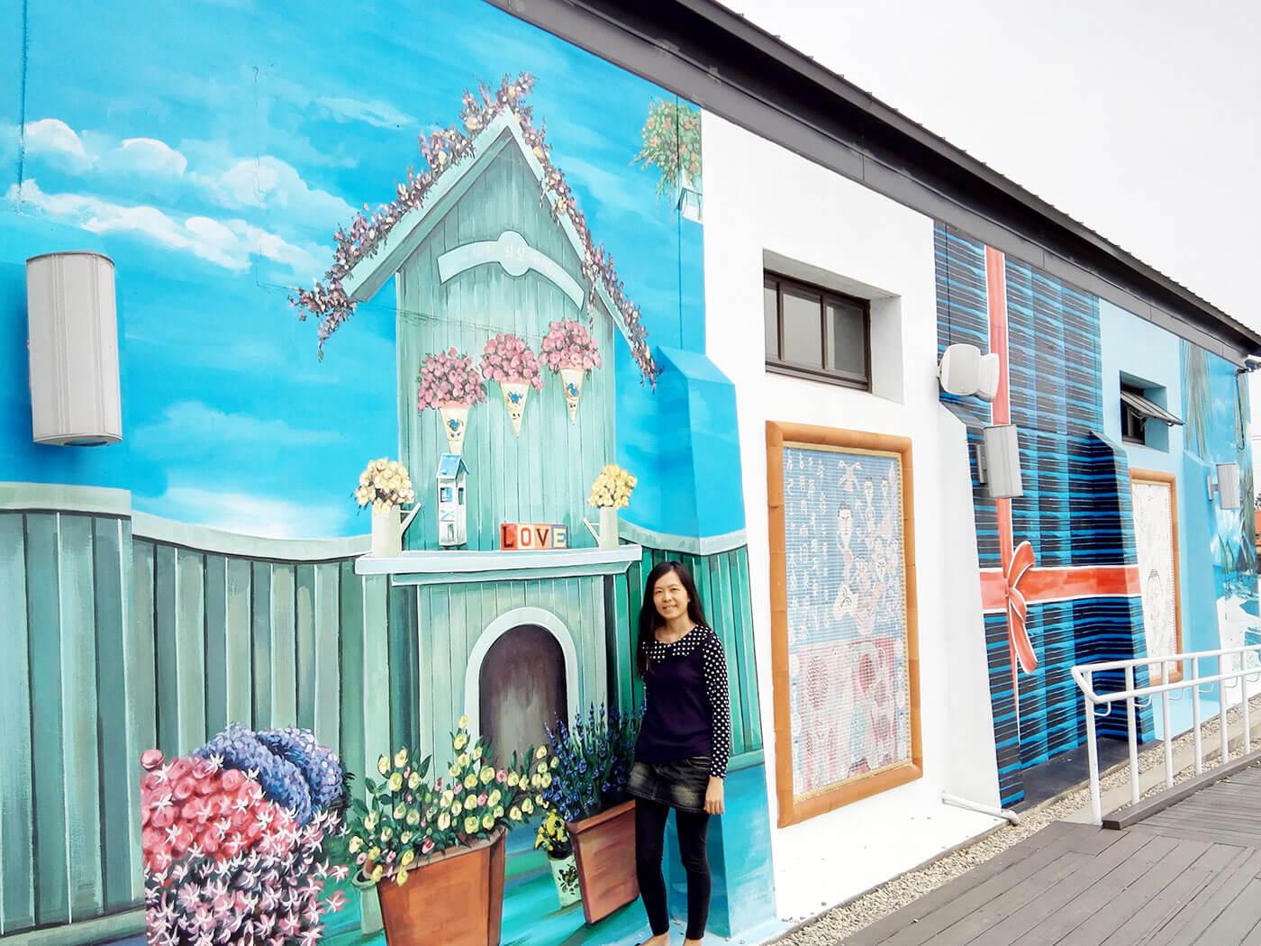 台南景点彩绘壁画