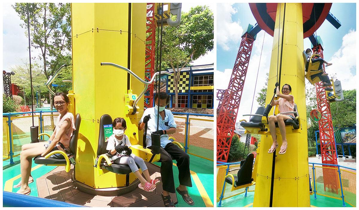 乐高乐园孩子力量塔