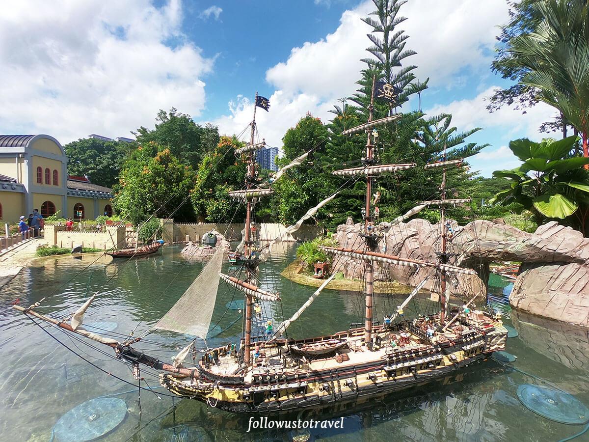 乐高海盗船