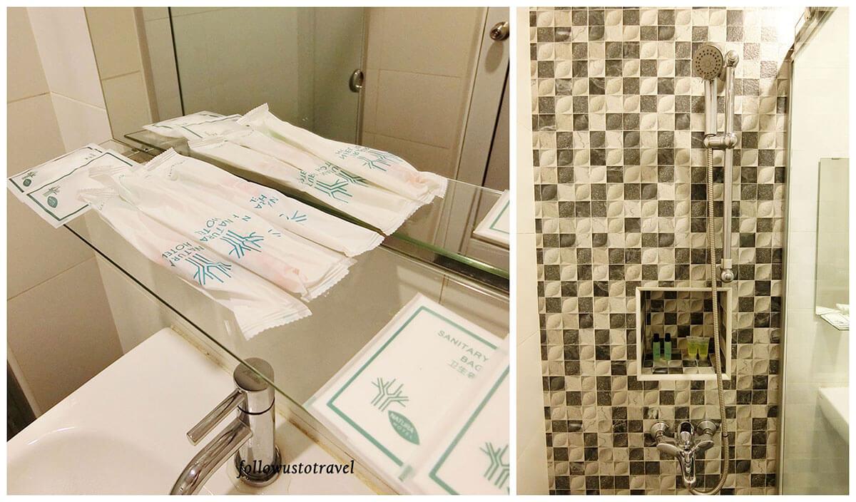 Natura Hotel 卫浴用品