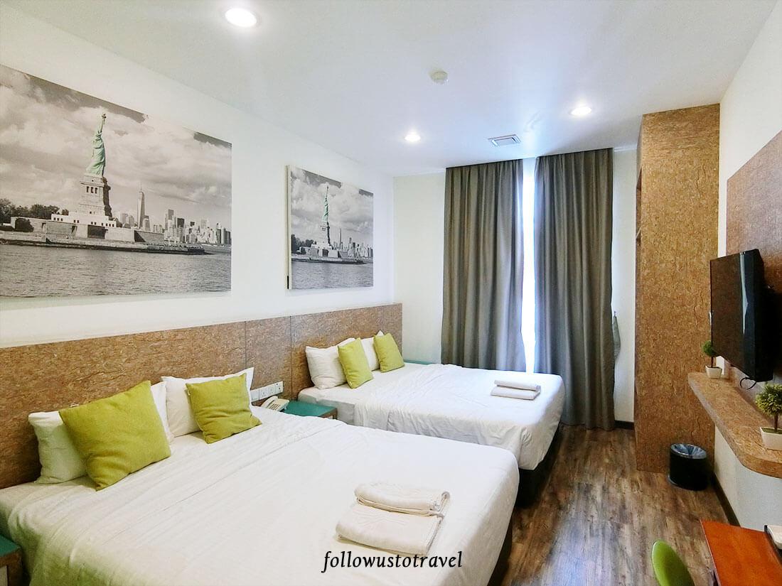 Natura Hotel 新山住宿家庭房