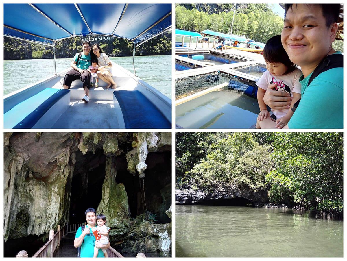 丹绒鲁红树林地质公园游船