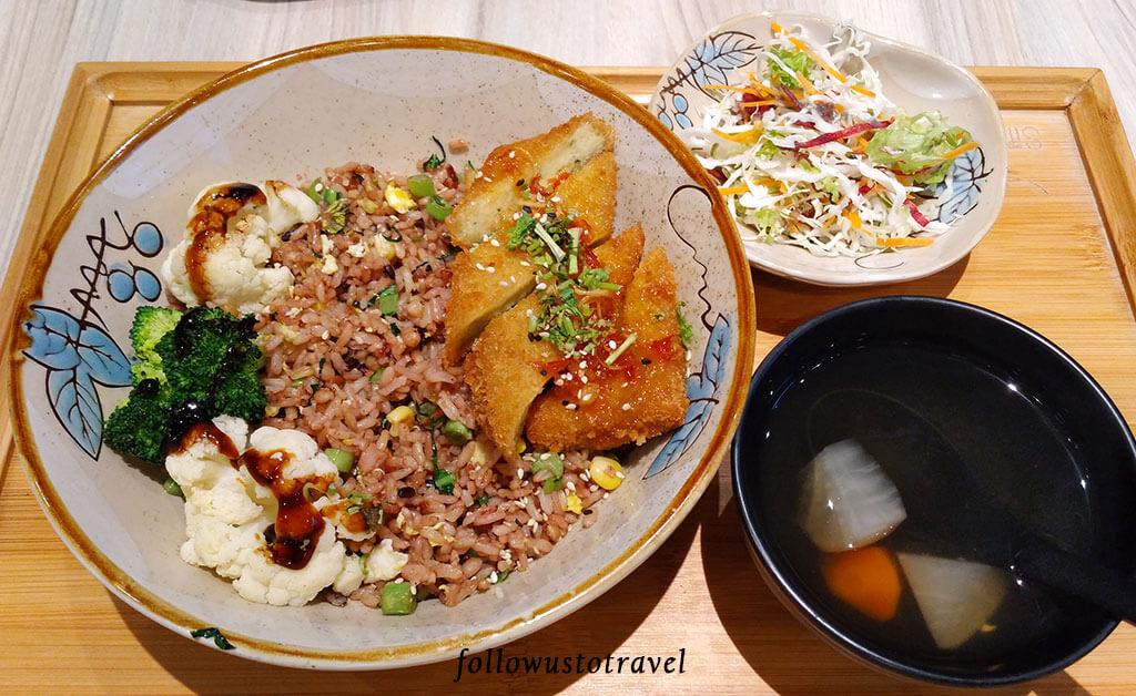 simple life 素食餐厅 set meals