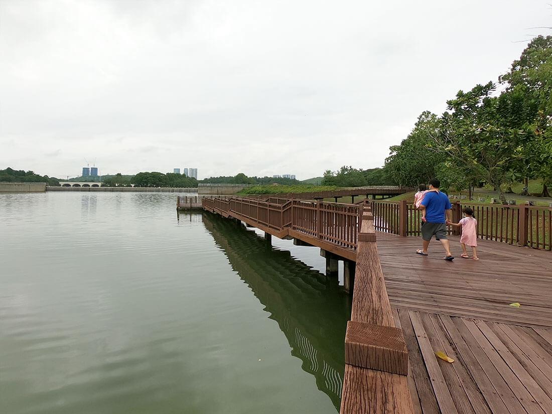 taman botani putrajaya lake boardwalk