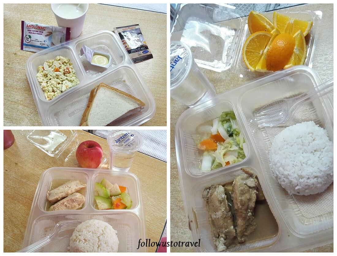 putrajaya医院食物