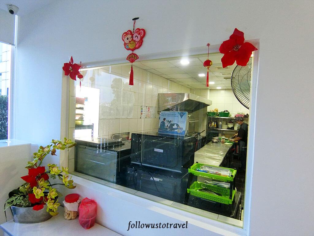蒲种区月子中心厨房
