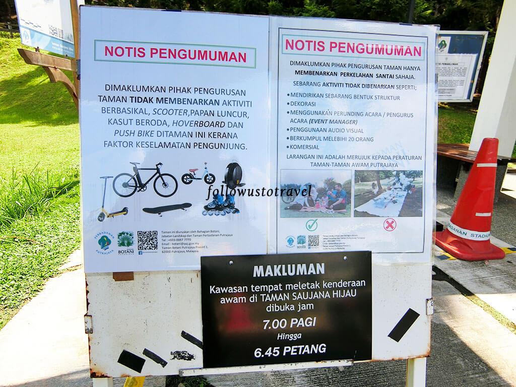 taman saujana hijau bicycle