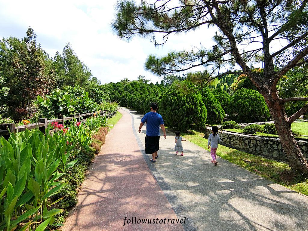 taman saujana hijau 散步