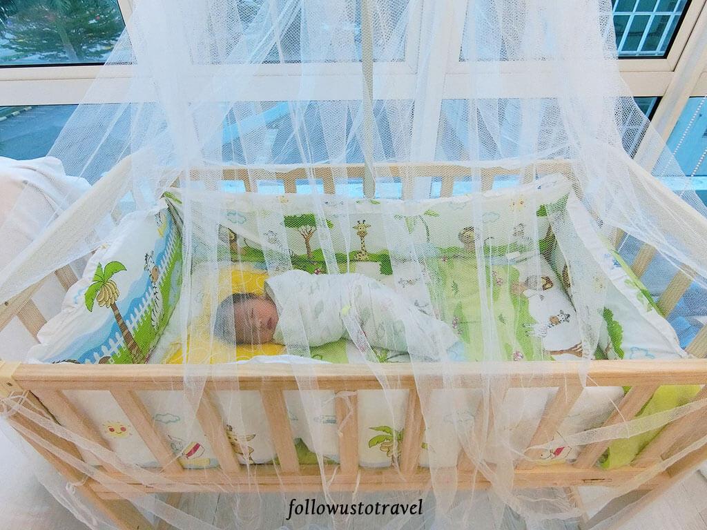 Amaby 月子中心婴儿床